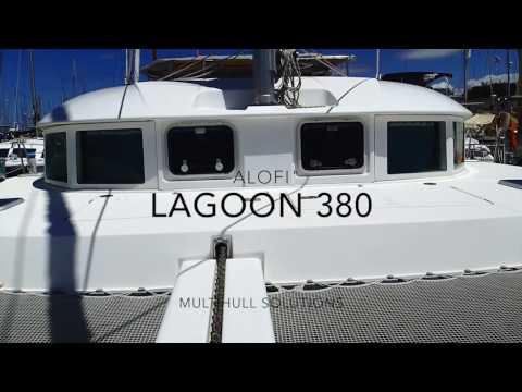 "2000 Lagoon 380 sailing catamaran for sale - ""Alofi"""