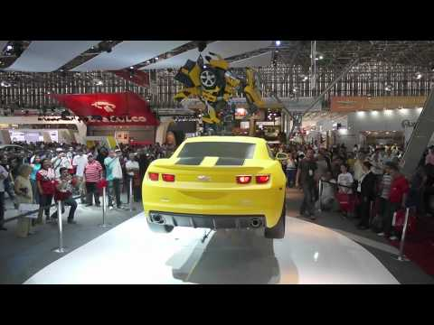 Flying Chevrolet Camaro - Car Show Sao Paulo - Brazil