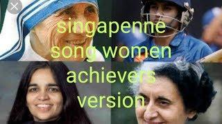 Bigil-singapenne song all women achievers version-(vijay-Nayanthara-AR.rahman)