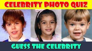 Celebrity Childhood Photo Quiz | Guess the Celebrity Quiz | Celebrity Trivia Quiz