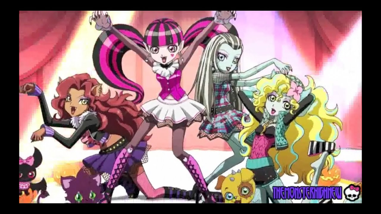 with scary girl monster Anime