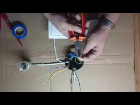 Kako spojiti naizmenicni prekidac/ How to connect alternate switch