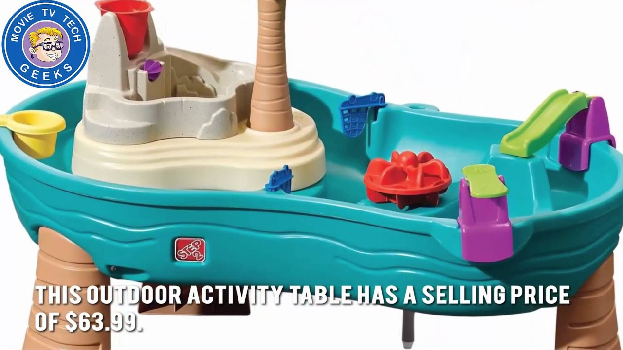 Step2 Splish Splash Seas Water Table Review 2017 Hottest Holiday Kids Toys You