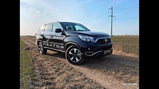Ssangyong Rexton G4 2018 2.2d 181KM PL TEST Skodziarz Testuje