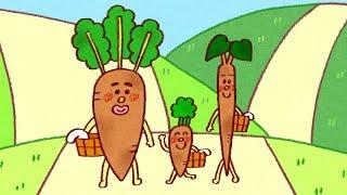 【しつけ絵本】野菜嫌いのお子様へ |だいこん にんじん ごぼう・三枚のお札  【日本昔ばなし】