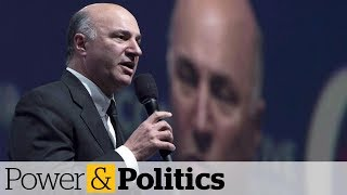 Kevin O'Leary suing government over fundraising limits | Power & Politics
