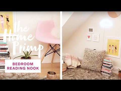 How To Create A Cozy Bedroom Reading Nook — For Under $300 | The Home Primp