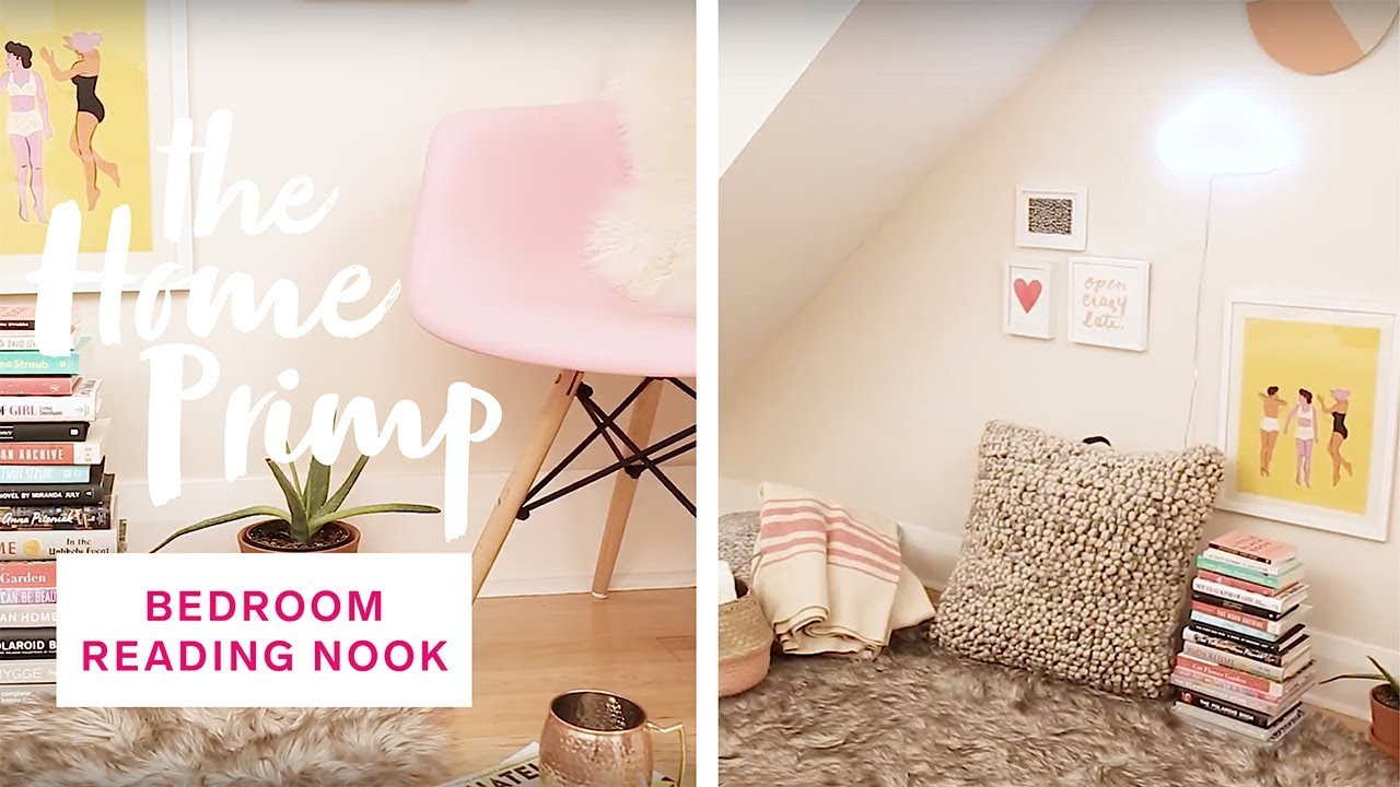 How To Create A Cozy Bedroom Reading Nook U2014 For Under $300 | The Home Primp