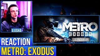 Metro: Exodus - Story Trailer | Реакция на сюжетный трейлер Метро: Исход | Russian Reaction
