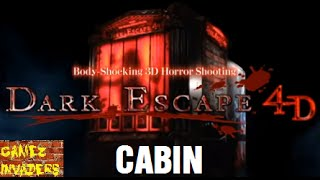 DARK ESCAPE 4D Arcade Light Gun Shooter CABIN level