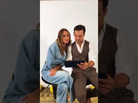 Grey's Anatomy's Camilla Luddington and Giacomo Gianniotti play 60 seconds with for TCA 2017