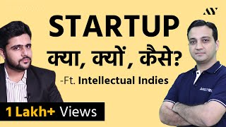 How to Start a Startup Business in India - Ft. Intellectual Indies