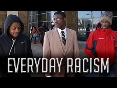Everyday Racism: Being Black at a bus stop