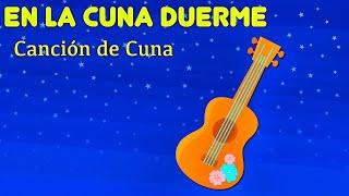 En La Cuna Duerme. Canción De Cuna En Ukulele. Lunacreciente