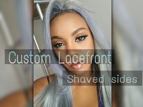 How To Make A Wig For A Shaved Side Doovi