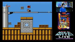 Chip 'n Dale Rescue Rangers (NES) Mike Matei Live