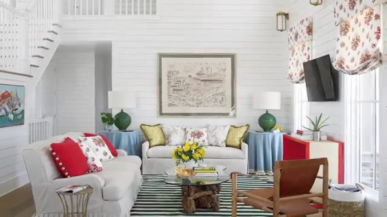 How to Decorate an Open Floor Plan Living Room - YouTube