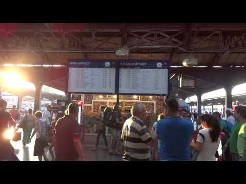 Bucharest, Romania Gara de Nord train station