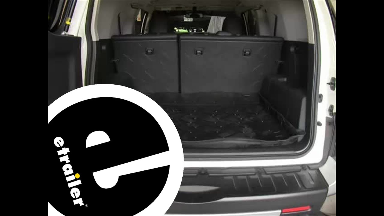 review of the husky cargo floor liner on a 2012 toyota fj cruiser