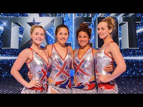 Aquabatique Synchronized Swimmers - Britain's Got Talent 2012 Final - International Version