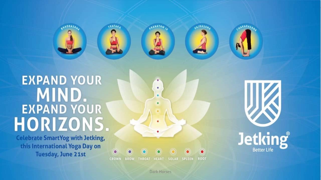 International Yoga Day Celebrations Jetking Delhi