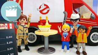 Playmobil Film deutsch - Das Playmobil Ghostbusters Foodtruck   Playmobil Stories