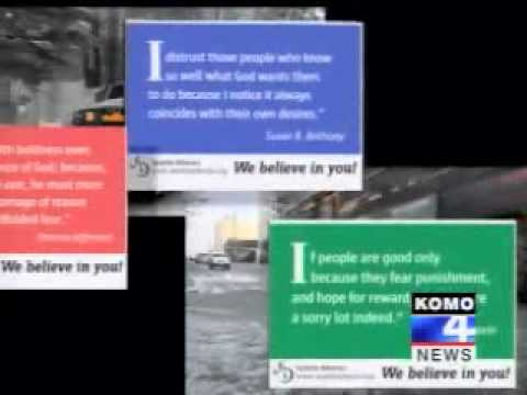 Atheist Bus Ads - Seattle, WA - Seattle Atheists - Local news