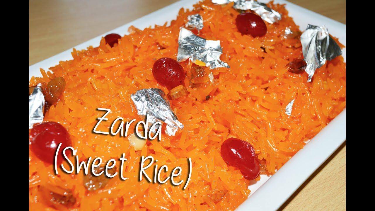 Zarda (Sweet Rice) Recipe By Chef Shaheen - YouTube