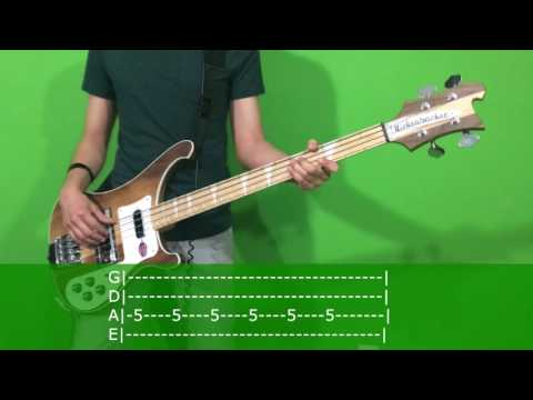 Twenty One Pilots Message Man Bass Cover With TAB