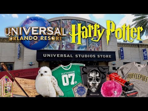 WHERE TO BUY HARRY POTTER MERCHANDISE OUTSIDE OF THE WIZARDING WORLD