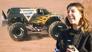 I Drove A Monster Truck For The First Time