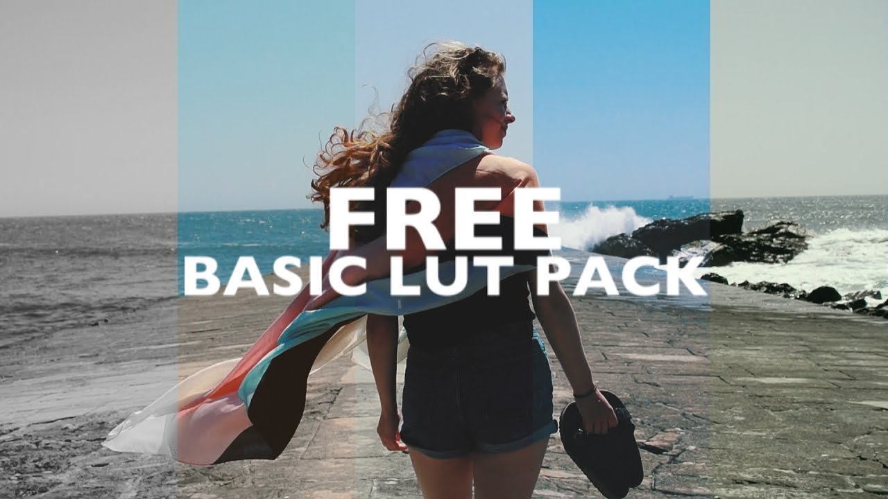 FREE BASIC CINEMATIC LUT PACKAGE by Tom Streller