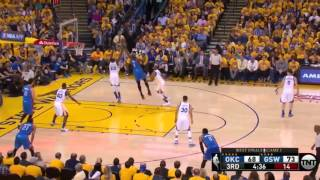 Oklahoma City Thunder vs Golden State Warriors. Game #1. PlayOffs NBA 2016