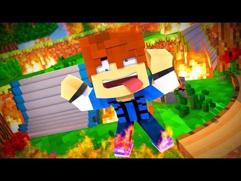 Minecraft Recess - FOREST FIRE !? (Minecraft Roleplay - Episode 19)