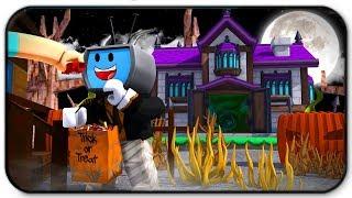 Halloween Candy Abenteuer In Roblox Trick oder behandeln In Hallowsville