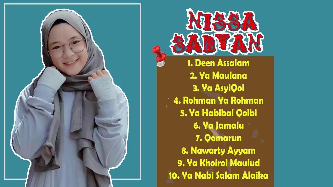 10 Lagu Populer Nissa Sabyan 2018