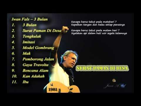 Iwan Fals - 3 Bulan  FULL Album  (1981)