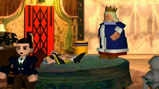 FFVII - Honey Bee Inn keyhole scenes (unobscured)