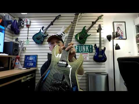 Schecter-C-1-FR-S-SLS-Elite - Demo - Unboxing - Specs - Review
