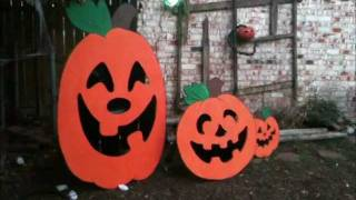 Pumpkin Patch Toss-Halloween Party Game