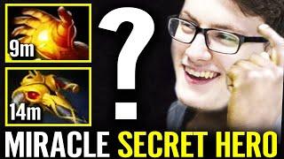 MIRACLE 9m MIDAS 14m BKB! WTF 100% Secret Hero Practicing For Dota Pit 2020 | Dota 2 Pro Gameplay