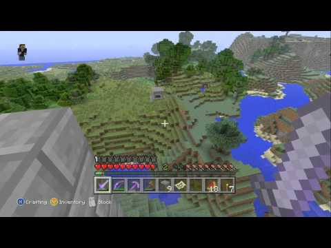 LukesterGaming Twitch Livestream Test! - Minecraft Xbox 360 Edition (Part 3/4)