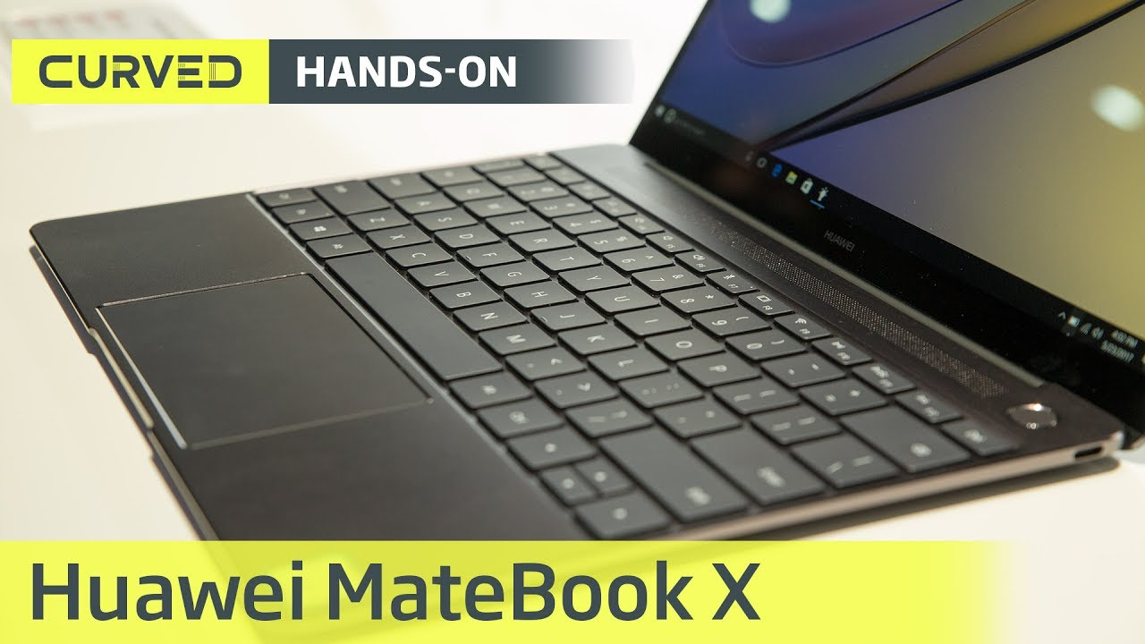Huawei MateBook X im Test: das Hands-on