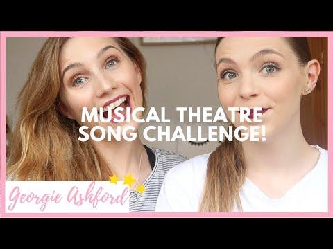 THE MUSICAL THEATRE SONG CHALLENGE   Georgie Ashford