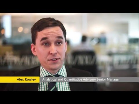 A career in Analytical and Quantitative Advisory