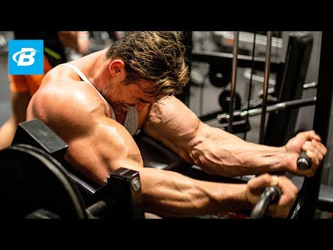 Calum Von Moger's Brutal Arm Workout for Mass | Building Von Moger Ep 5