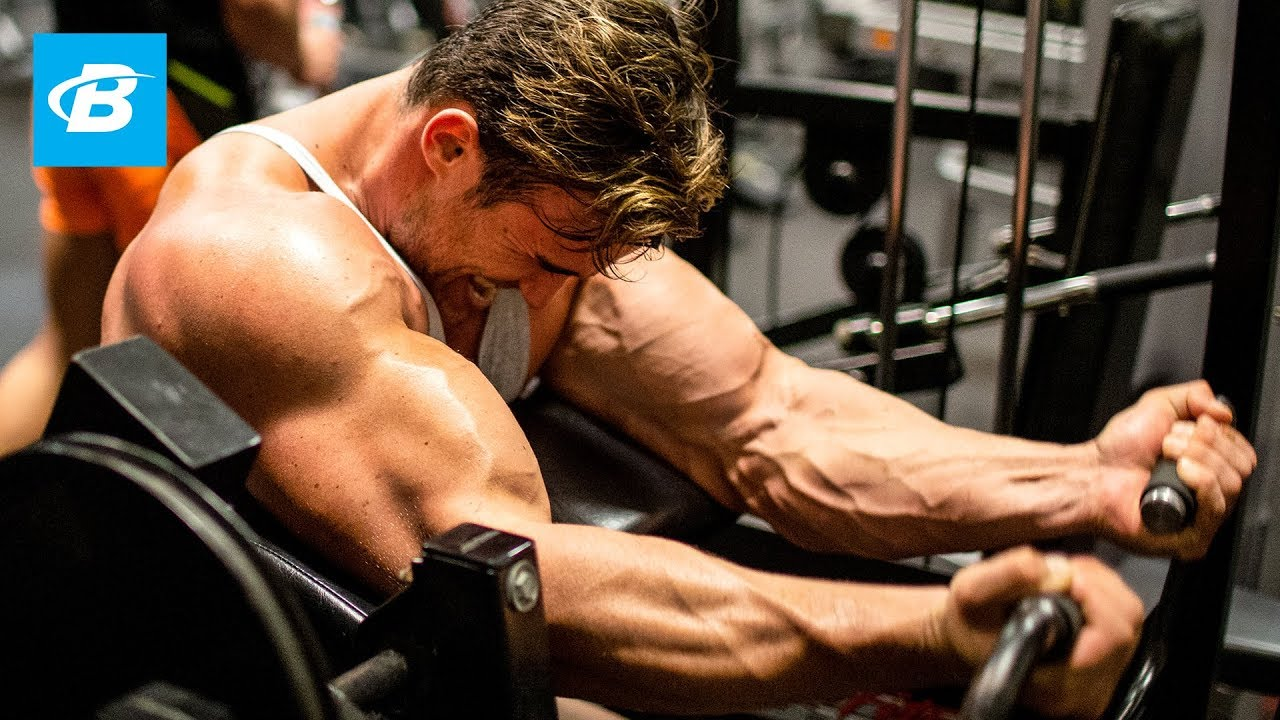 Calum Von Moger's Brutal Arm Workout for Mass | Ep 5 - YouTube