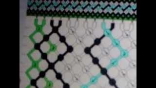 урок № 5) как плестифеечки (схема косого плетени)