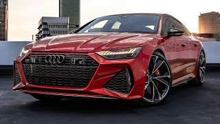 PREMIERE! 2020 AUDI RS7 SPORTBACK - V8TT, WIDER, SEXIER, BEEFIER! The long awaited monster is here!