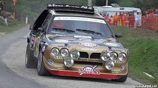 The Legendary Lancia Delta S4 Group B in Action - PURE Engine Sounds!